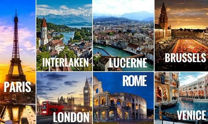 Classical EUROPE 2018 11 Days / 10 Nights